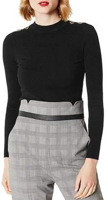 Karen Millen Hardware Detail Sweater