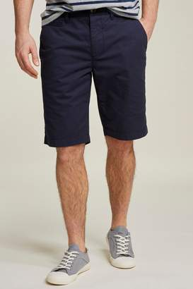 Fat Face Mens FatFace Blue Whitby Lightweight Chino Short - Blue