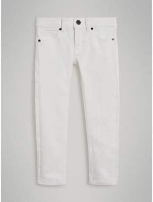 Burberry Skinny Fit Stretch Jeans , Size: 6Y