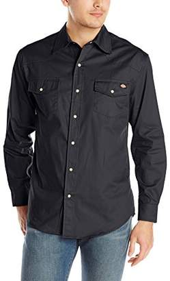 Dickies Men's Long-Sleeve Western Twill Shirt