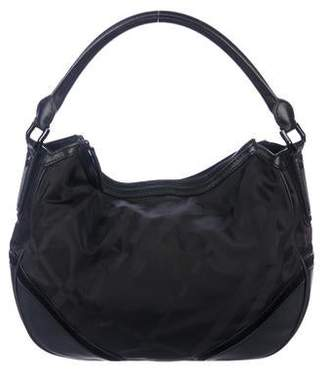 9849a0c06 Burberry Black Hobo Bags - ShopStyle