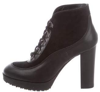 Hogan Suede Ankle Boots w/ Tags