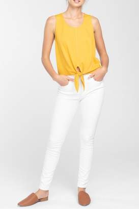 Everly Tie Cropped Top