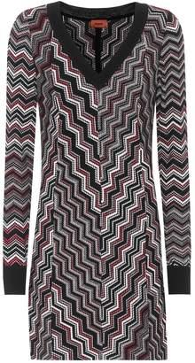Missoni Knitted wool-blend dress