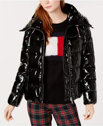 Tommy Hilfiger Shiny Puffer Coat