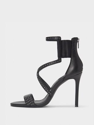 2993d9ed2a2a Multi Strap Black Heels - ShopStyle