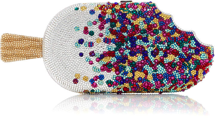 Judith Leiber Couture Sprinkles Popsicle Clutch