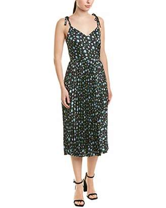 Betsey Johnson Women's Pleated Floral Dress