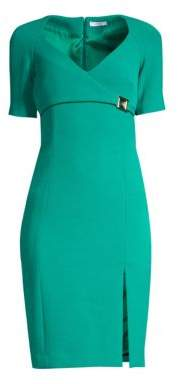 Versace Short Sleeve Bodycon Dress