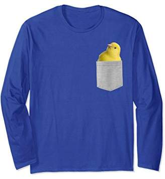 Animal in Your Pocket Yellow canary Longsleeve T-shirt