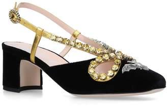 Gucci Zephyra Slingback Sandals 55