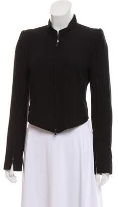 Ann Demeulemeester Virgin Wool Zip-Up Jacket