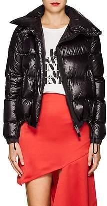 Sacai Women's Asymmetric Tech-Fabric Puffer Jacket