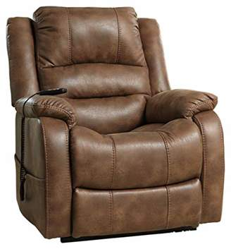 Signature Design by Ashley Ashley Furniture Signature Design - Yandel Power Lift Recliner - Contemporary Reclining - Faux Leather Upholstery