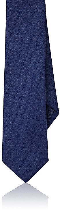 Barneys New YorkBarneys New York Men's Wool Herringbone-Weave Necktie