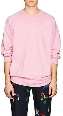 Acne Studios Men's Oil Badge Cotton T-Shirt