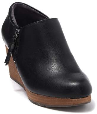 Dr. Scholl's Work It Wedge Platform Bootie