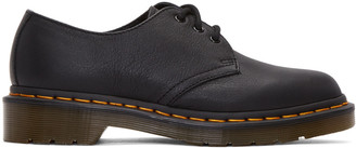 Dr. Martens Black Three-Eye 1461 Derbys $115 thestylecure.com