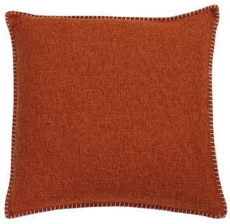Co Jimco Lamp & Manufacturing 20 PF 2 Pack Umber Georgetown Chunky Weave Whipstitch Pillow