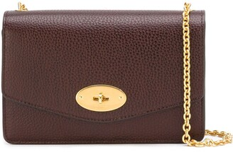 Mulberry chain strap crossbody bag
