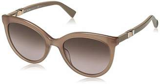 Max Mara Women's Mm Jewel Ii Oval Sunglasses
