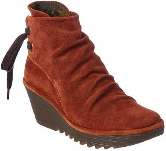 Fly London Yama Wedge Bootie
