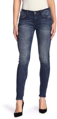 Rock Revival Lightly Distressed Skinny Jeans