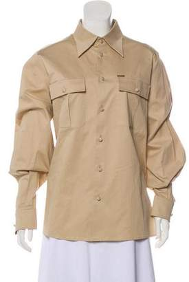 DSQUARED2 Long Sleeve Button-Up Top w/ Tags