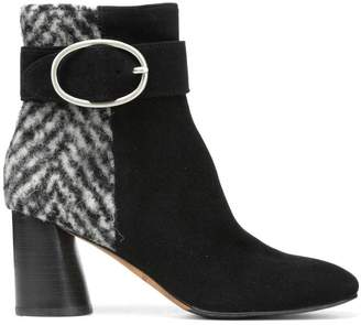 Donald J Pliner GABE, Kid Suede and Wool Boot