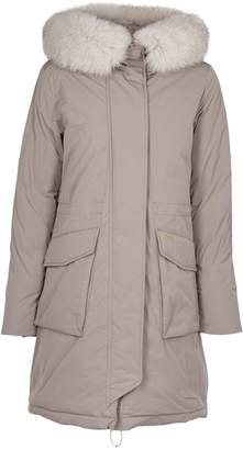Woolrich Fur-trimmed Hooded Coat