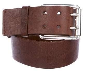 Michael Kors Distressed Leather Belt