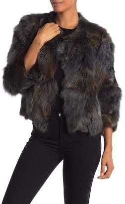 Bagatelle Genuine Dyed Fox Fur Jacket