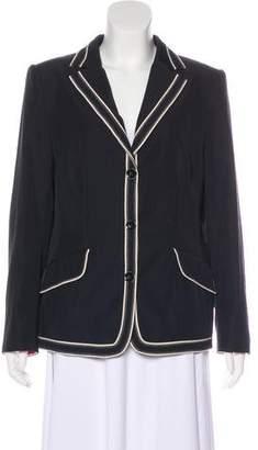 Rena Lange Structured Button-Up Blazer