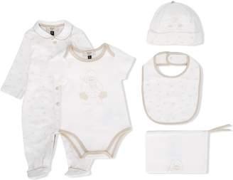 Emporio Armani Kids peter pan collar pajamas
