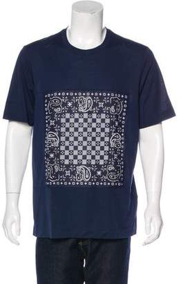Louis Vuitton Bandana Graphic T-Shirt w/ Tags