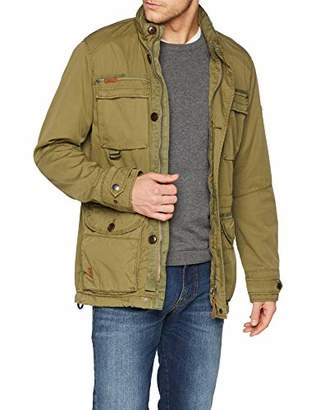 e32f47aa07 Camel Active Mens 1R50 Long Sleeve Jacket - Green - XXXX