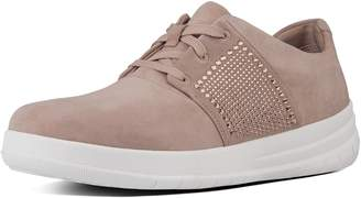 FitFlop Sporty-Pop X Crystal Suede Sneakers