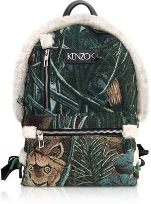 Kenzo Tapestry Jacquard Memento Backpack