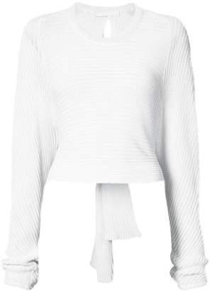 Dion Lee ribbed sweater
