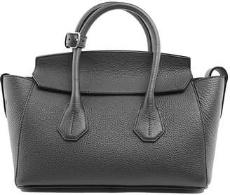 Bally Sommet Small Pebbled-leather Handbag