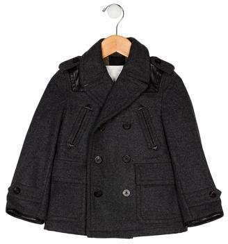 Burberry Boys' Wool Coat w/ Tags
