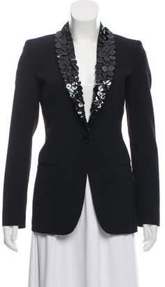 Jean Paul Gaultier Embellished Shawl-Lapel Blazer