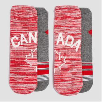 Joe Fresh Women's 2 Pack Canada Sport Socks