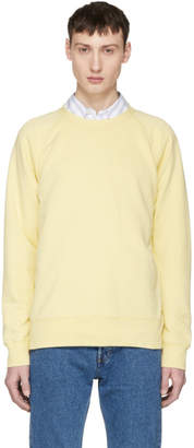 Our Legacy Yellow 50s Great Sweatshirt