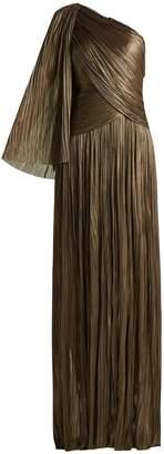 Maria Lucia Hohan Aquila one-shoulder pleated dress
