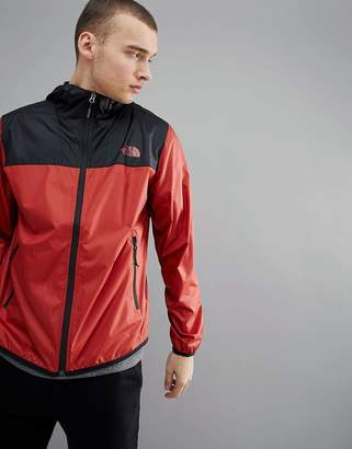 The North Face Cyclone 2 Tone Hooded Jacket In Red