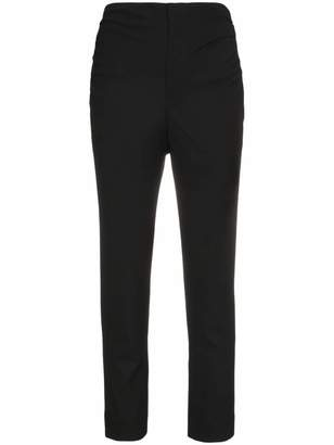 Jacquemus High waisted skinny cropped trousers