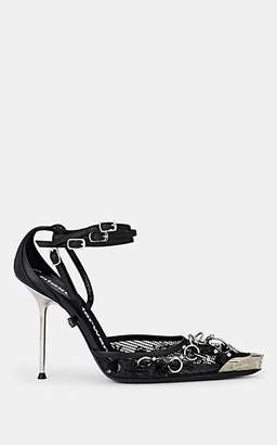 Alexander Wang Women's Selena Patent Leather Pumps - Black