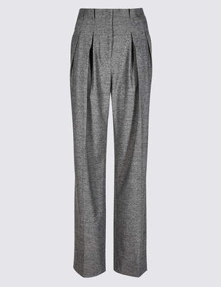 Limited Edition Textured Straight Leg Trousers