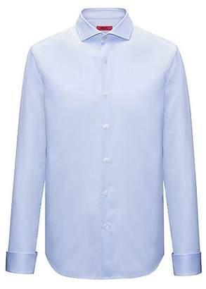 HUGO BOSS Cotton evening shirt in a slim fit